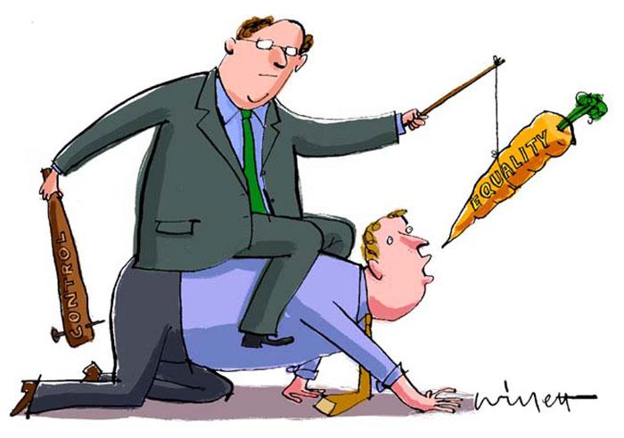 """Thuật ngữ """"cây gậy và củ cà rốt"""" dùng trong doanh nghiệp là gì"""